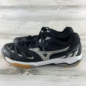 MIZUNO Wave Rally 5 Volleyball Shoes Size 8